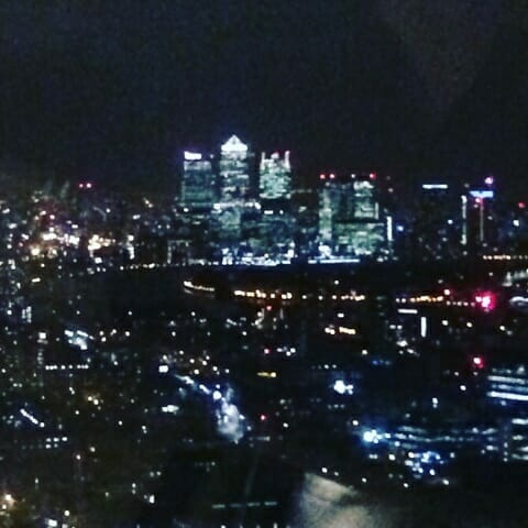 Canary Wharf in the East