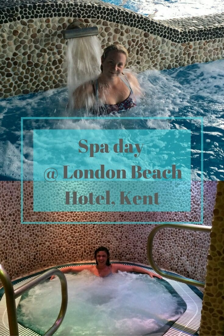 Spa day at London Beach Hotel