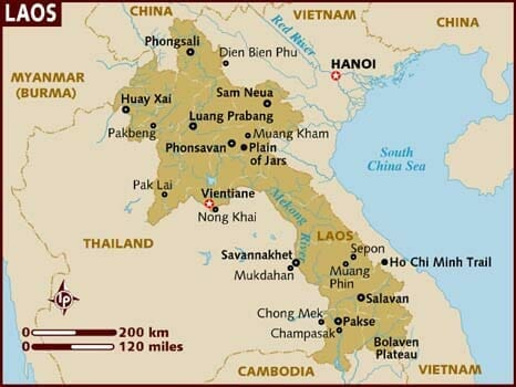 10 facts about Laos on What's Katie Doing? blog