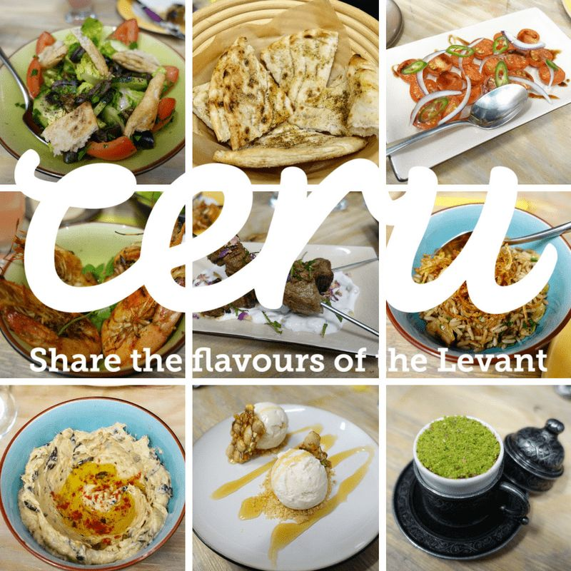Ceru a Taste of the Levant on What's Katie Doing? blog