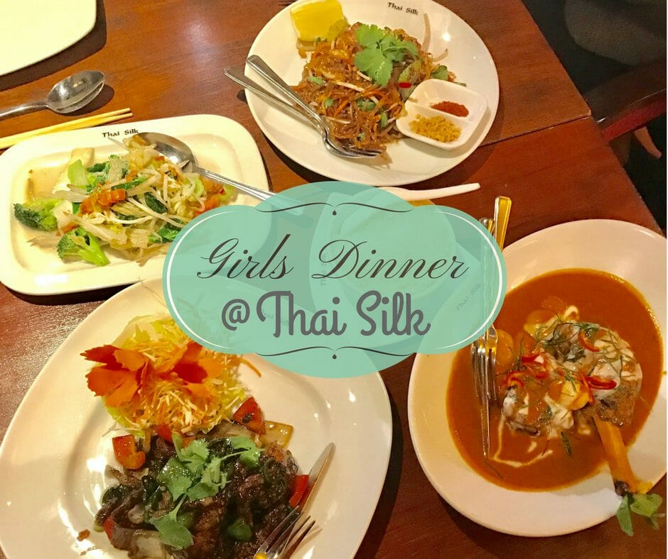 Girls Dinner @ Thai Silk on What's Katie Doing? blog