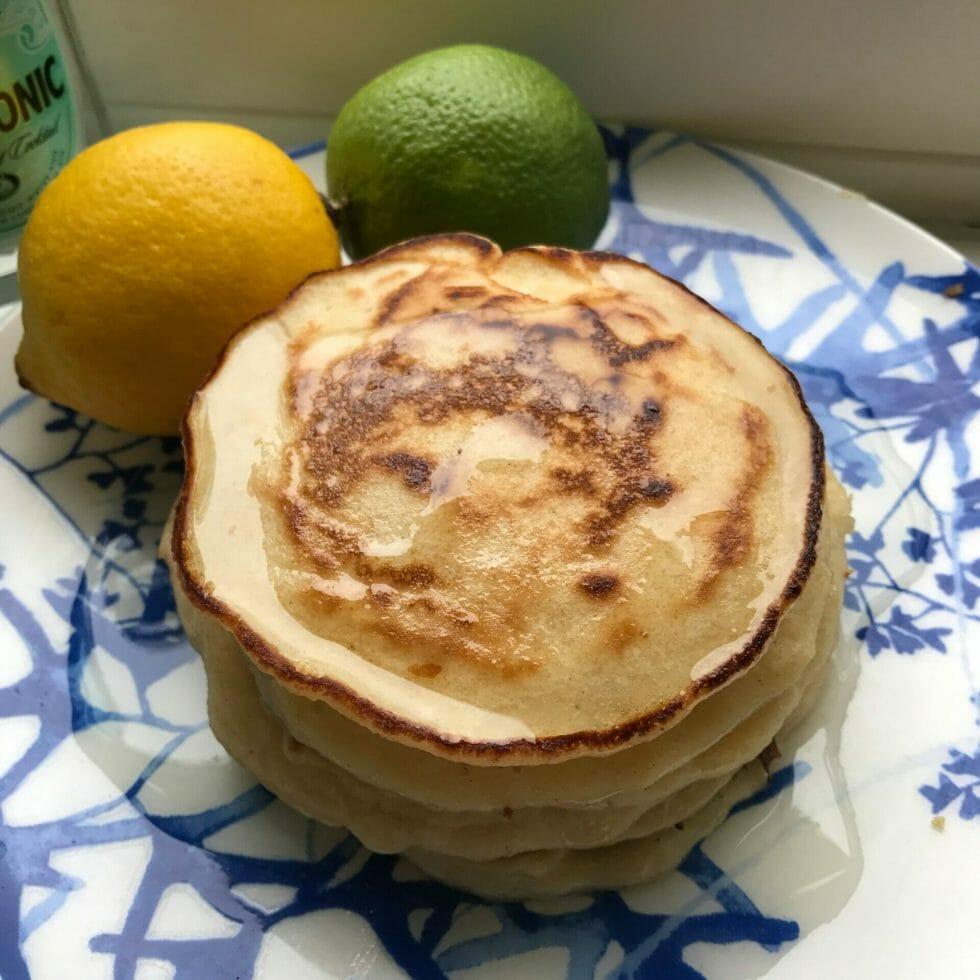 Close up view of pancake stack - Pancake Day Ginspiration