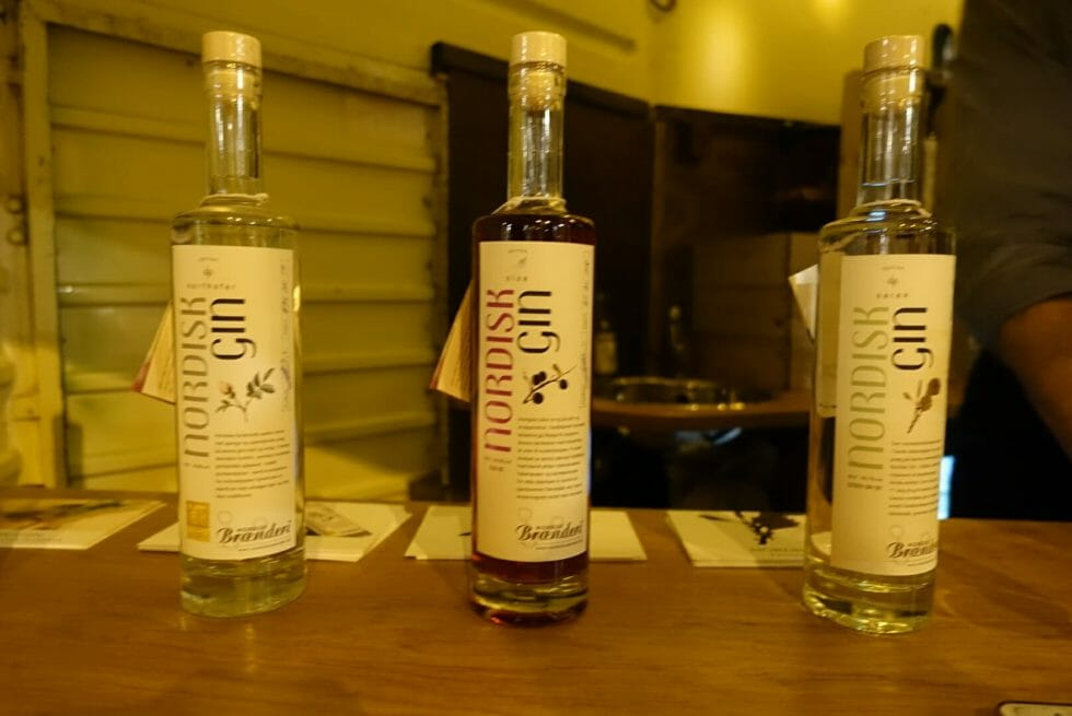 The three Nordisk gins