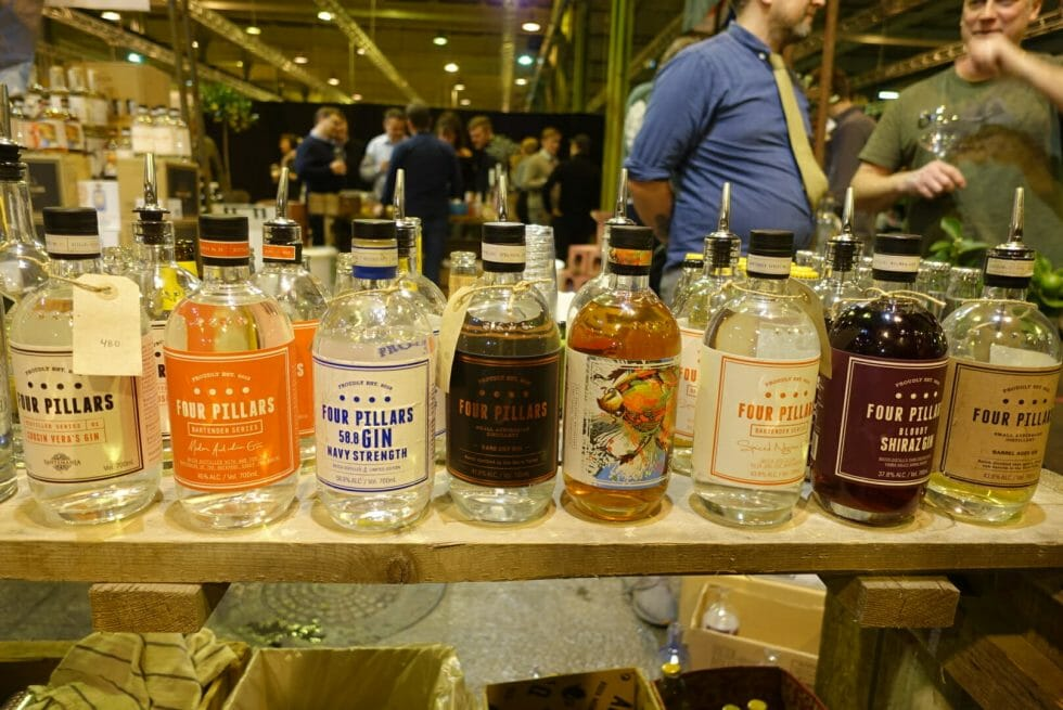 The Four Pillars gin range
