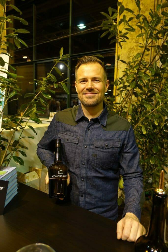 Soren with his Kongsgaard gin