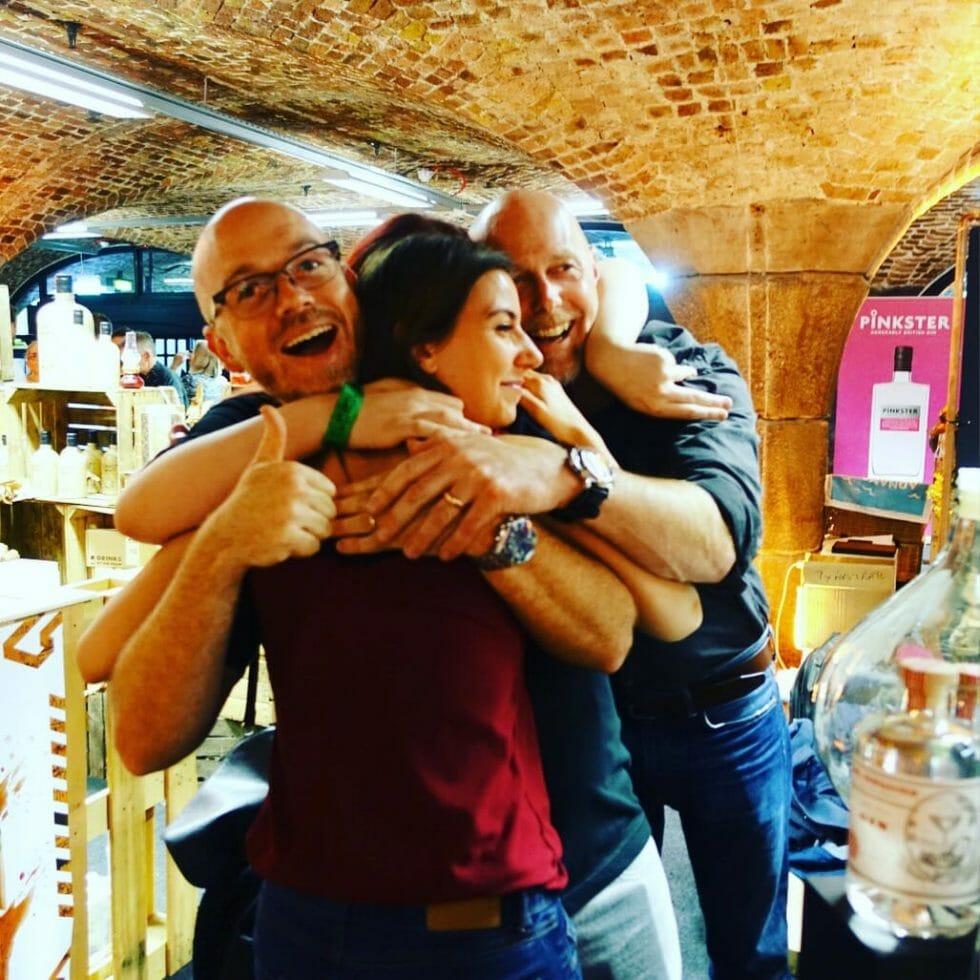 hugs with St George Spirits