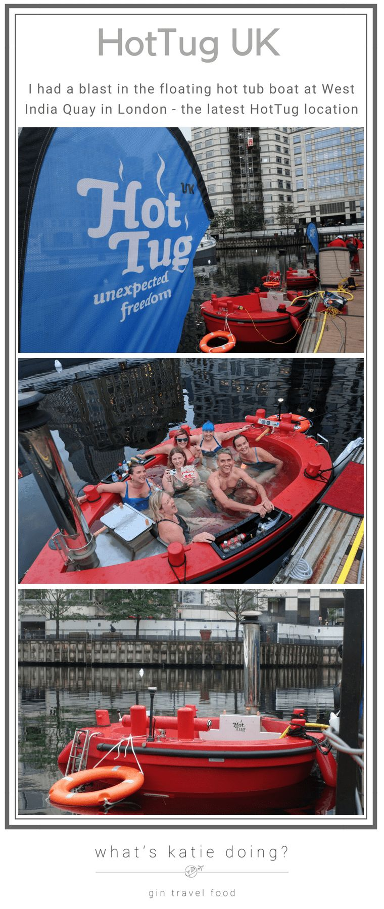 HotTug UK - the latest location in West India Quay, London