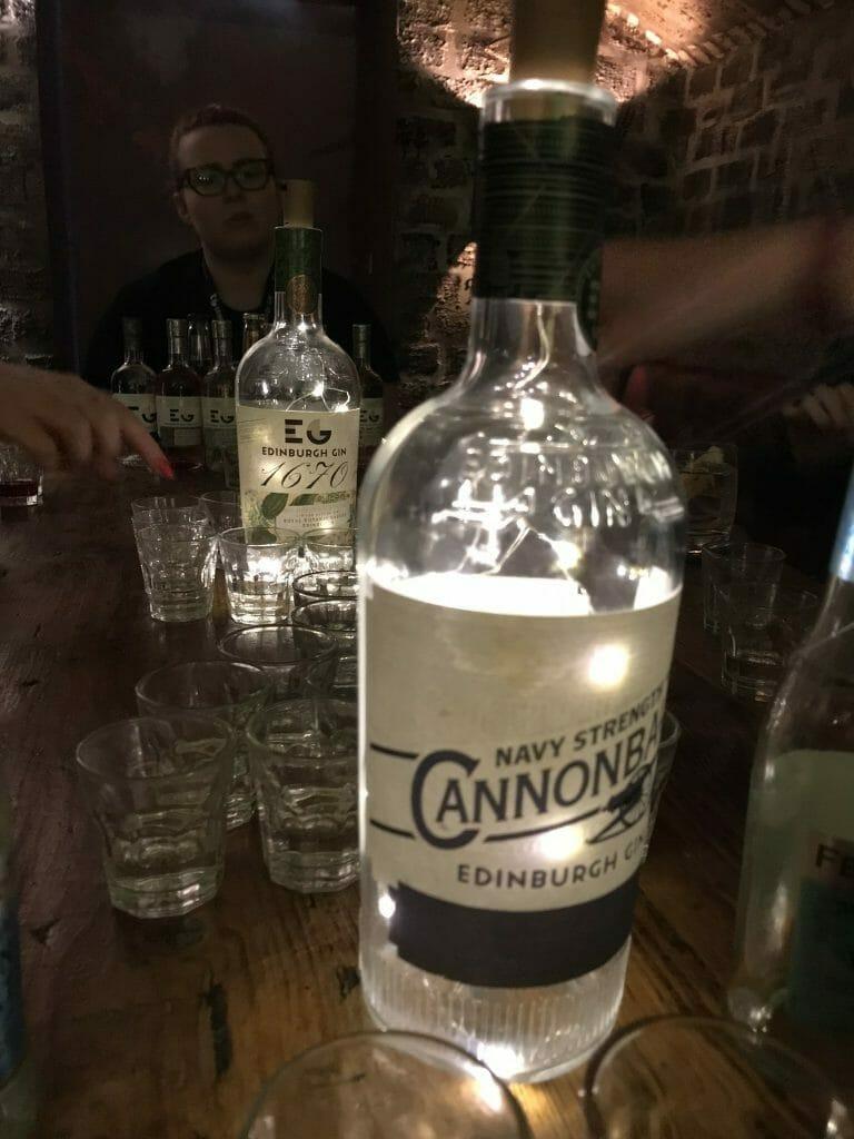 Cannonball gin is Edinburgh gin's Navy Strength