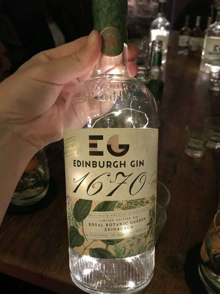 Their new release 1670 - a collaboration with the Edinburgh botanical gardens