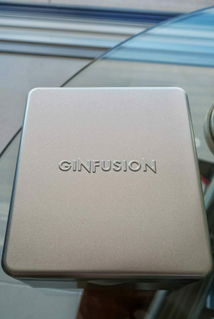 Ginfusion classic tin, closed