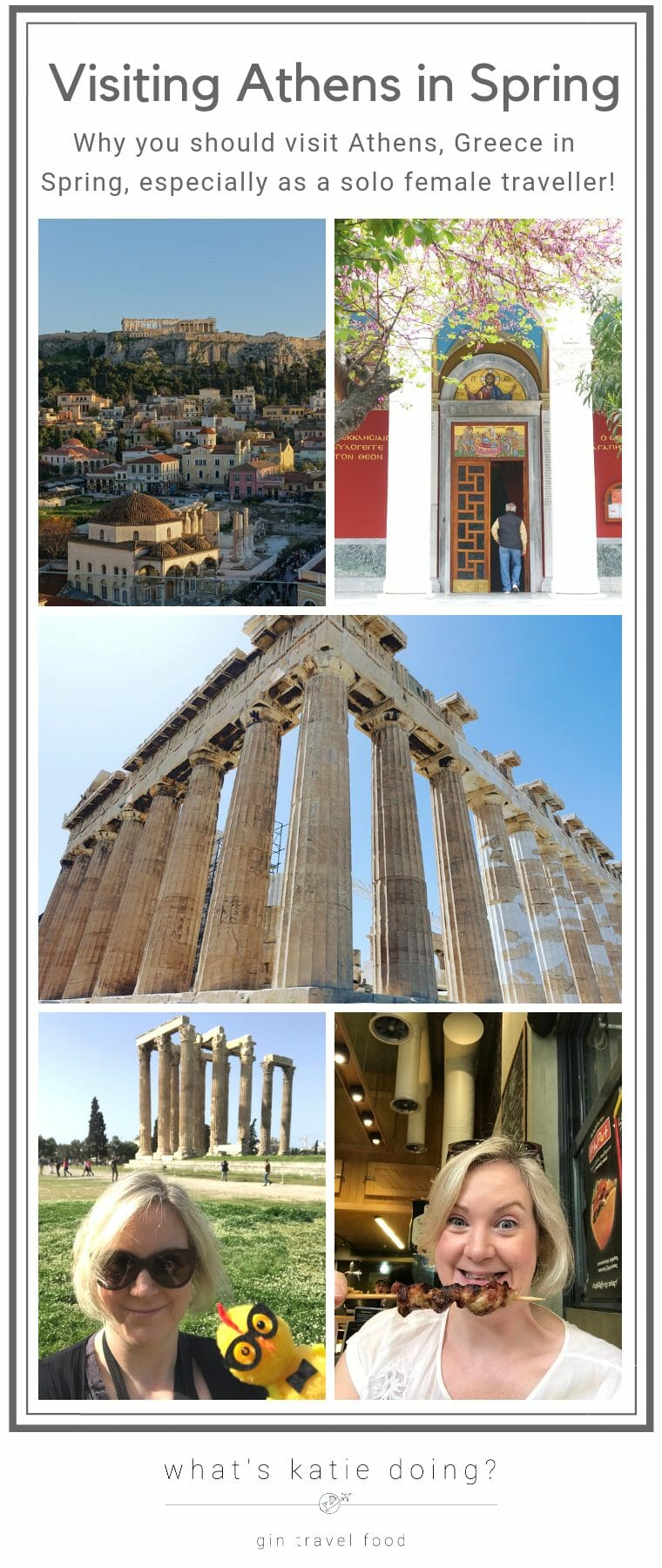 Why you should visit Athens in Spring as a solo female traveller
