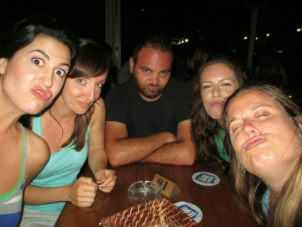 Duckface from Katie's group mates in Istanbul
