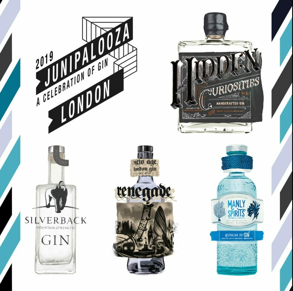 Junipalooza 2019 top 5 gins you must visit