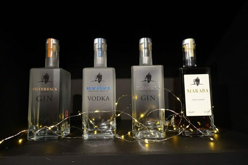 The full range of Gorilla Spirits
