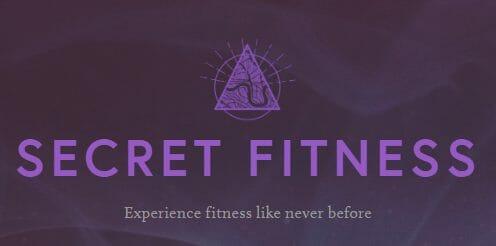Secret Fitness logo 'Experience fitness like never before'