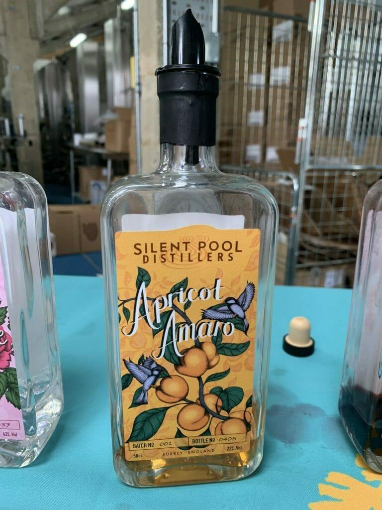 Silent Pool apricot amaro