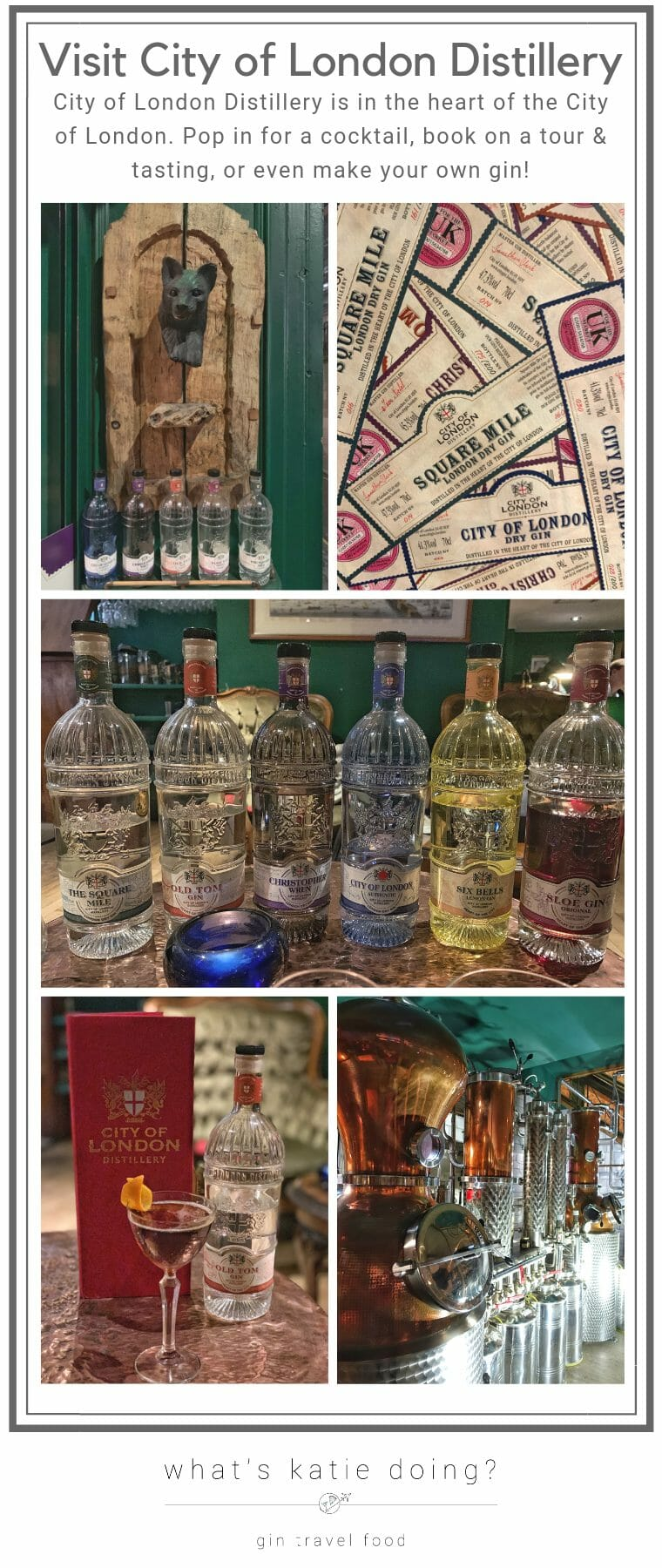 Visit City of London Distillery: Tour, taste and make your own gin at this central London distillery
