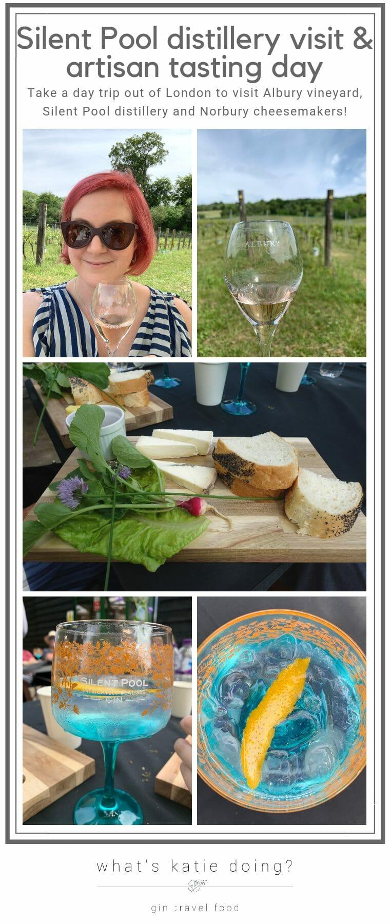 Silent Pool distillery visit & artisan tasting day