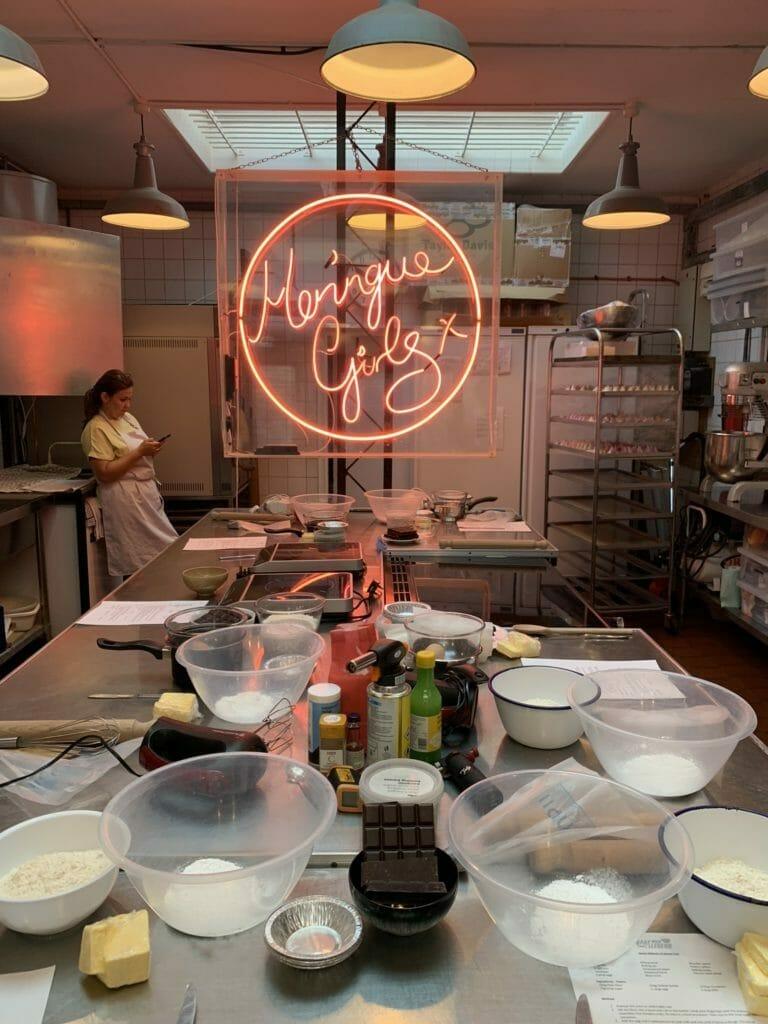 Inside the Meringue Girls kitchen