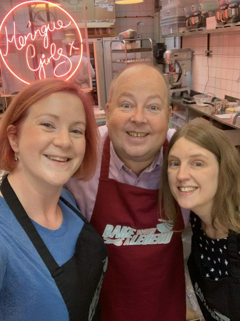 Selfie with Great British Bake Off legend James Hillary