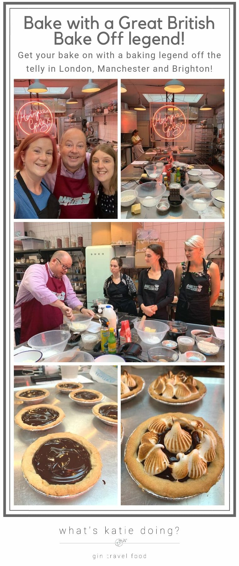 Bake with a Great British Bake Off Legend in London
