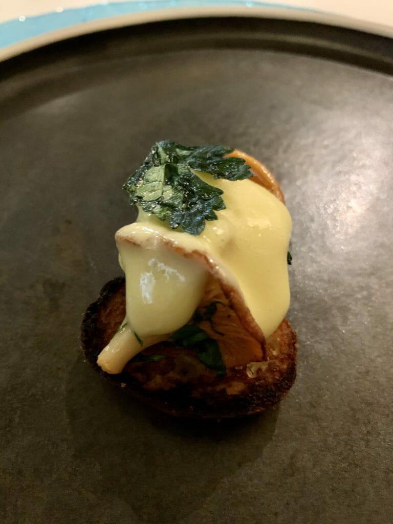 Mushroom amuse bouche
