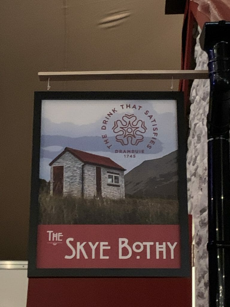 The Skye Bothy sign