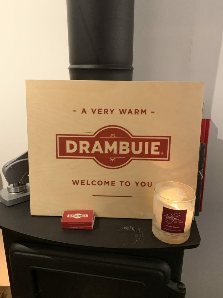 Drambuie bothy wood burning stove