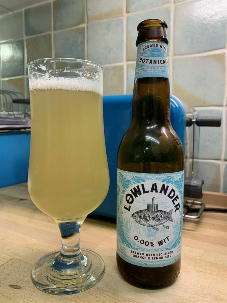 Lowlander 0.00% Wit beer