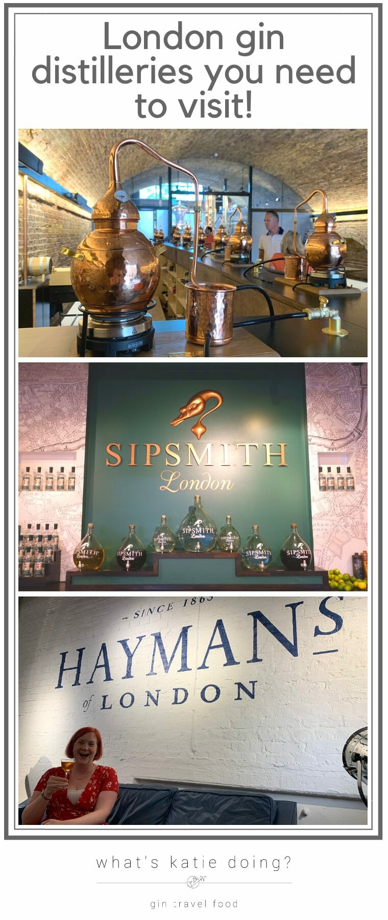 London gin distilleries you need to visit