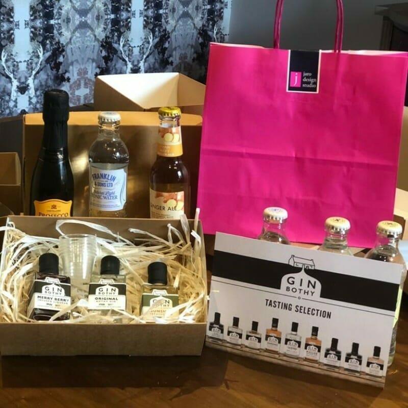 Gin Bothy gin tasting box