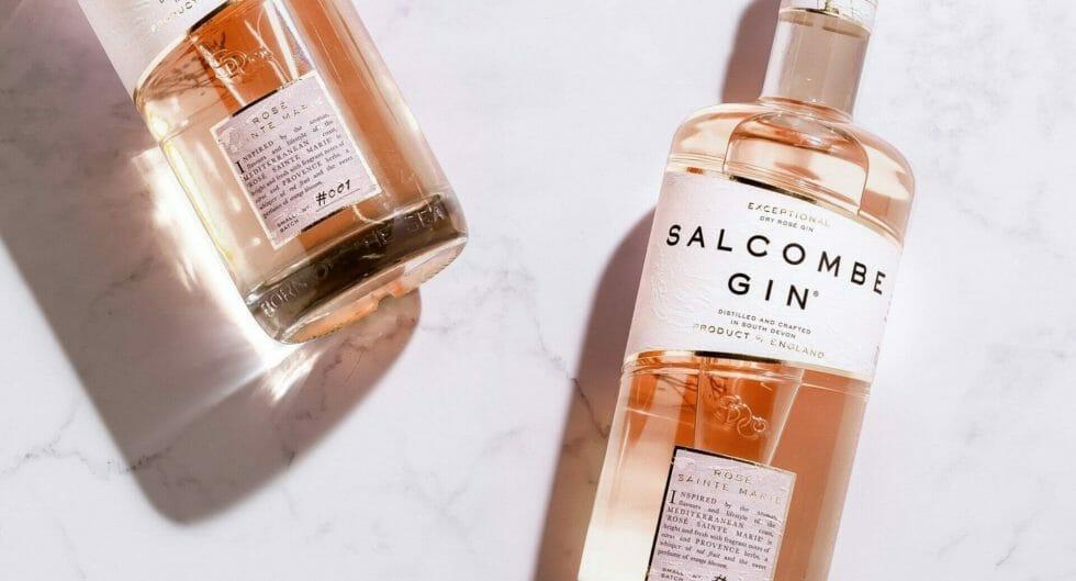 Salcombe Rose Sainte Marie gin