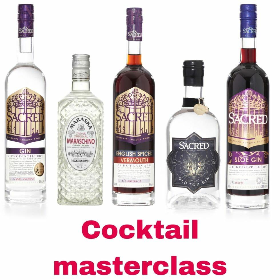 Sacred cocktail masterclass