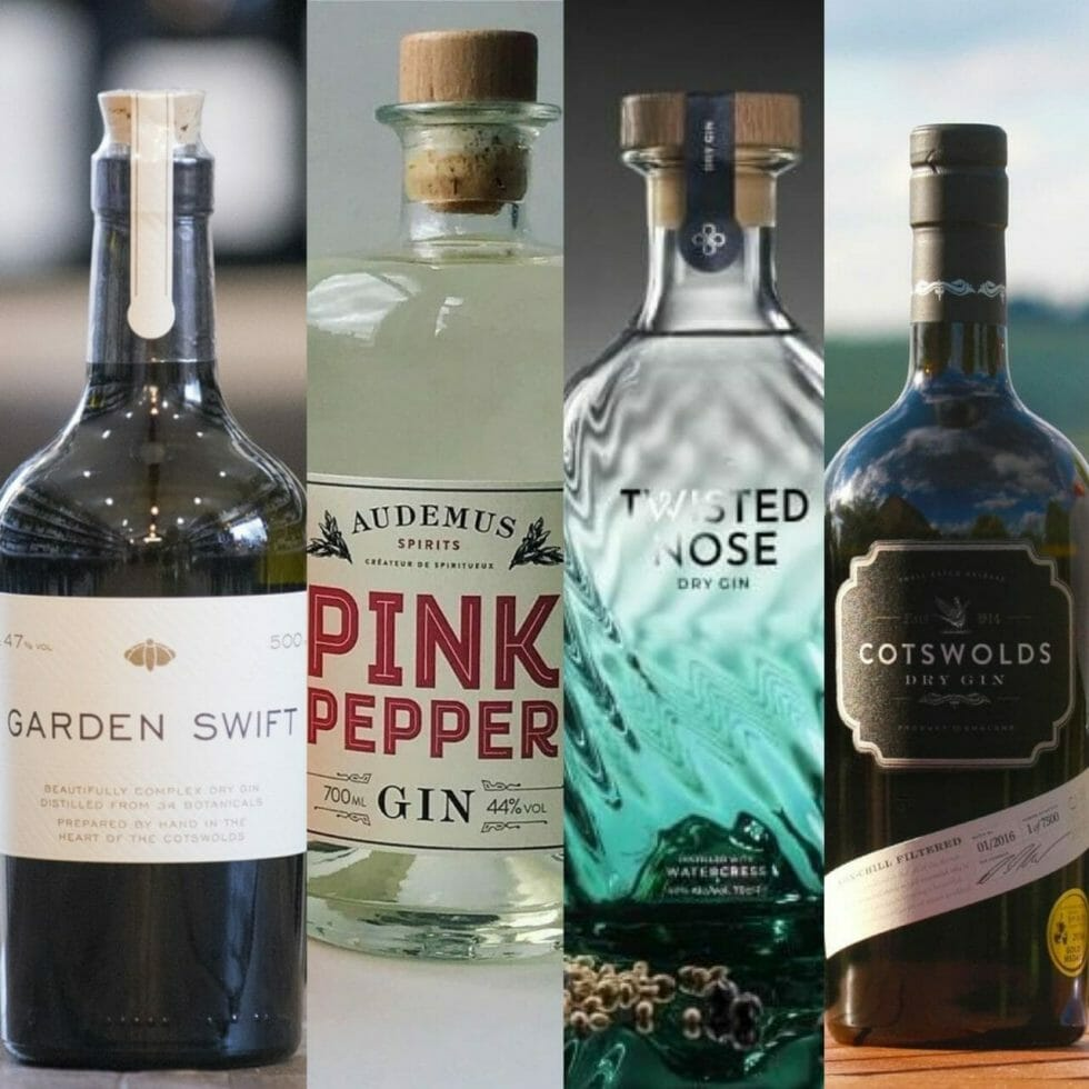 The Gin to My Tonic September gin line up