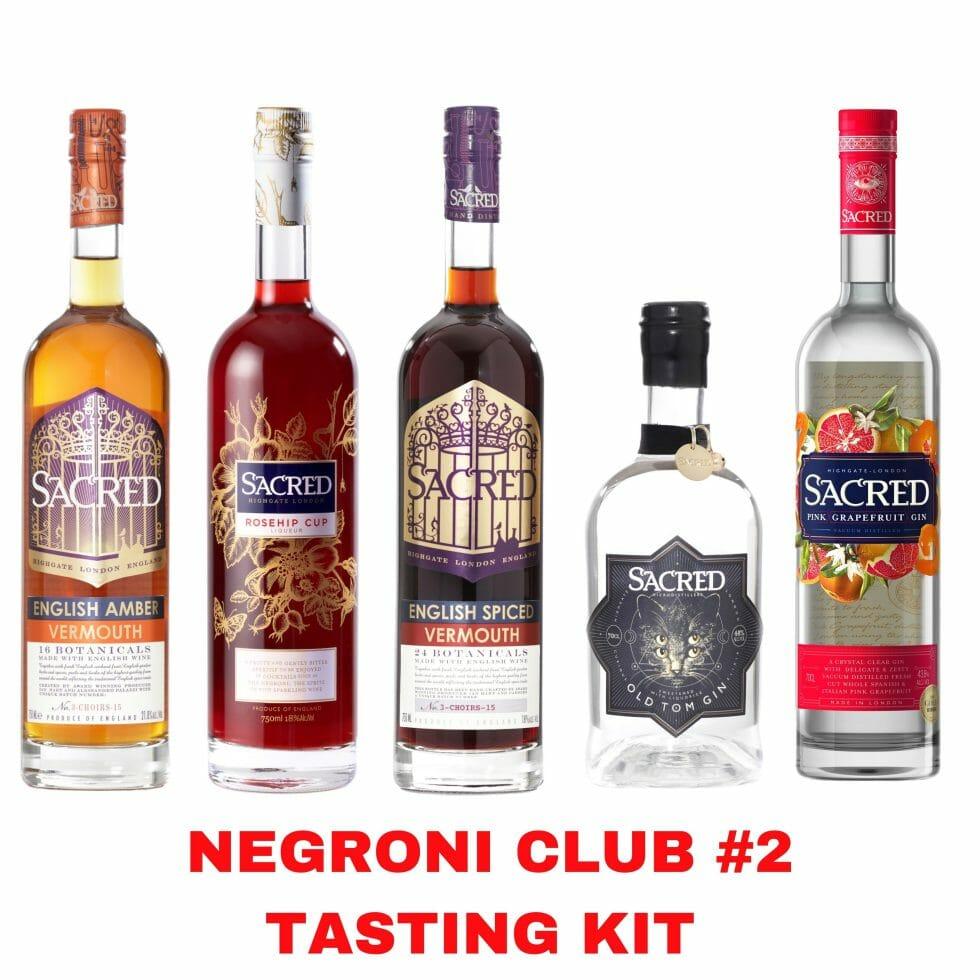 Sacred Gin Negroni Club