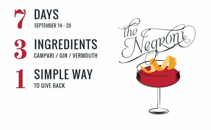 Negroni week 14-20 September 2020