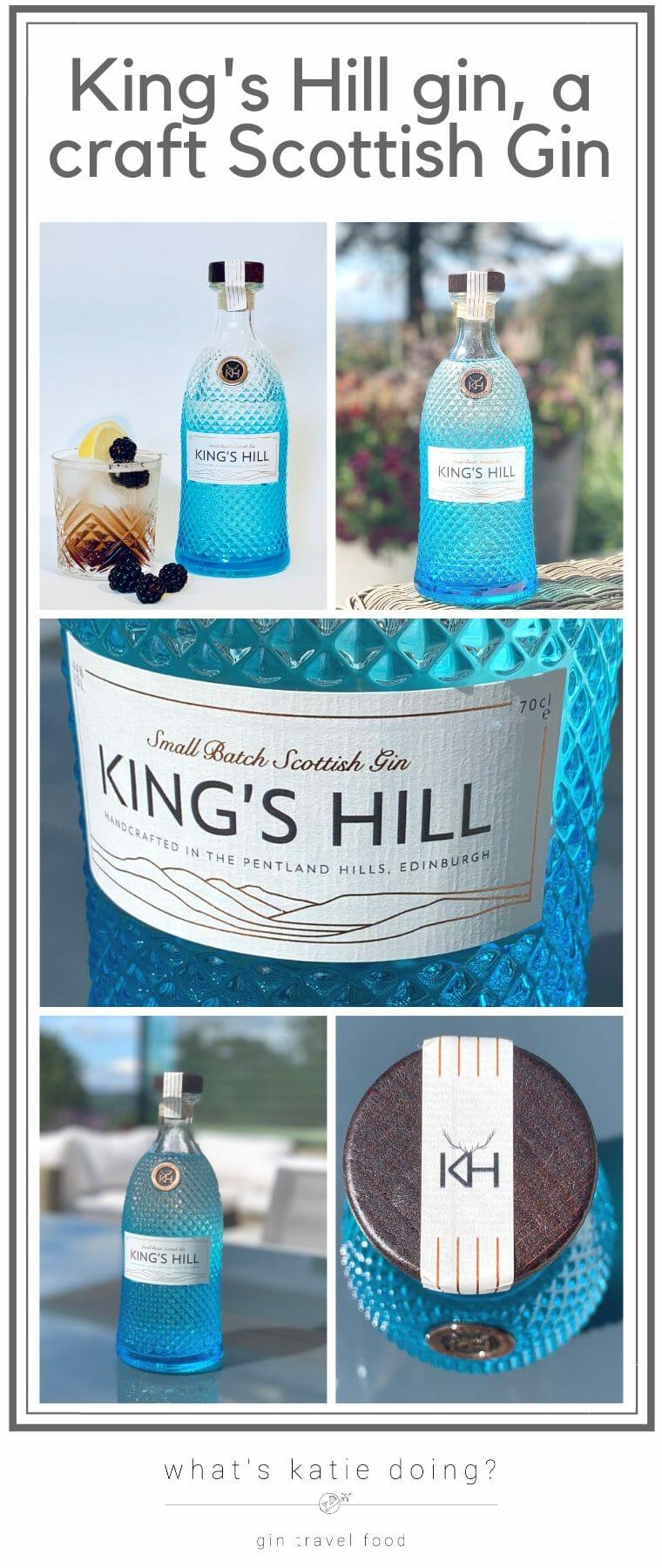King's Hill gin a Scottish craft gin