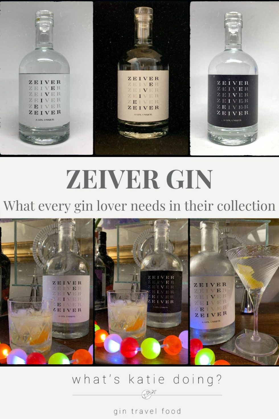 Zeiver gin - what every gin lover needs in their collection