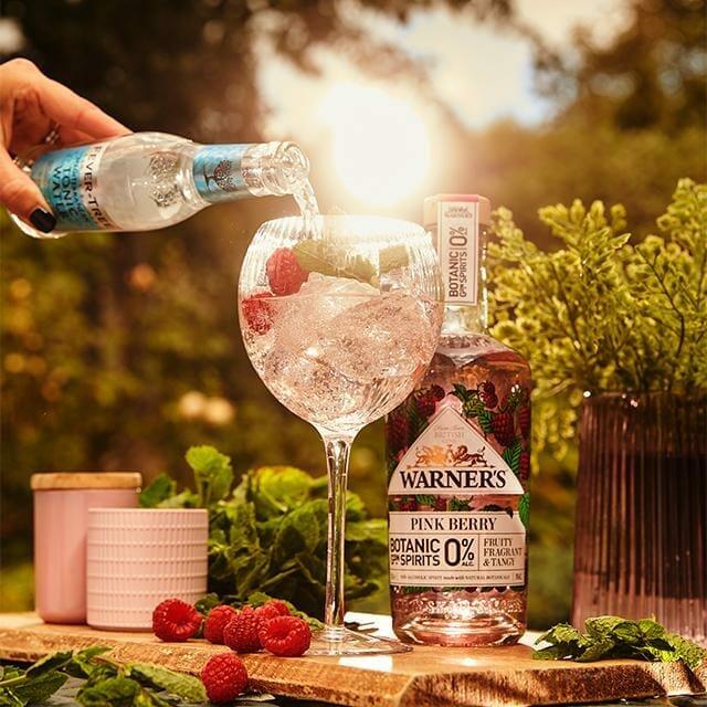 Warner's Pink Berry 0% Botanic Spirit