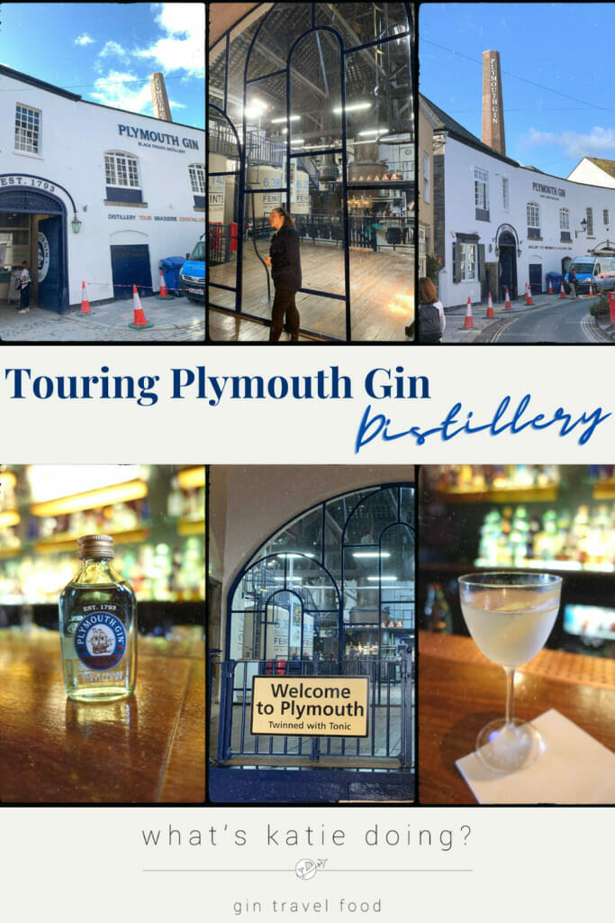Touring Plymouth gin distillery - 6 images of the distillery