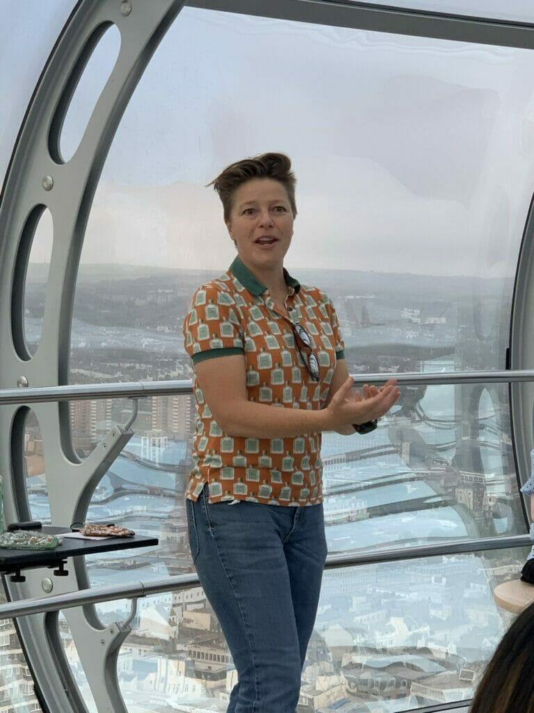 Brighton gin founder Kathy Caton